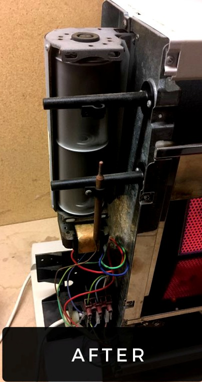 gas heater after service