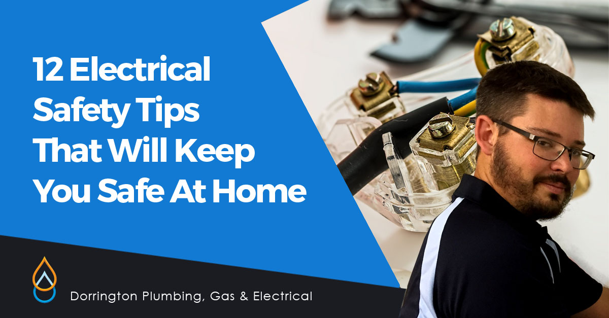 !2 Electrical Safety Tips